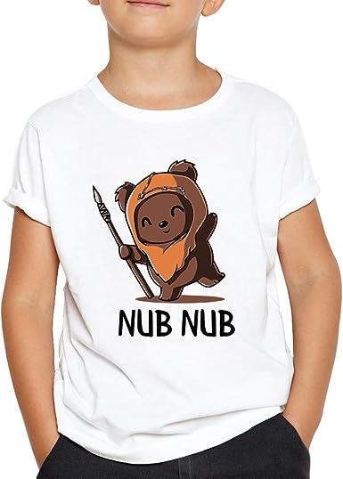 OKAPY Camiseta Ewok. Una Camiseta de Niño Para los Fans de Star ...