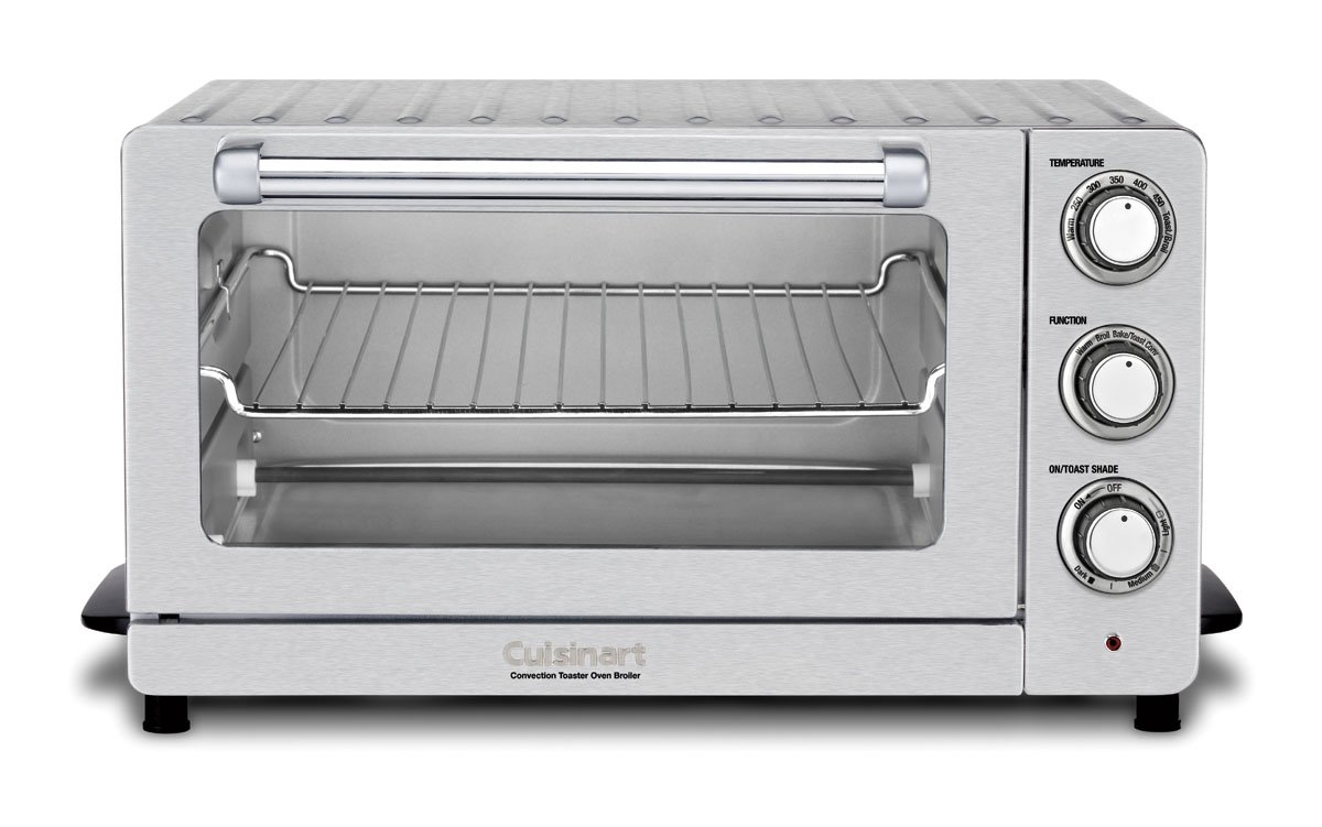 Cuisinart TOB-60N1 Toaster Oven Broiler with Convection, Stainless Steel by Cuisinart