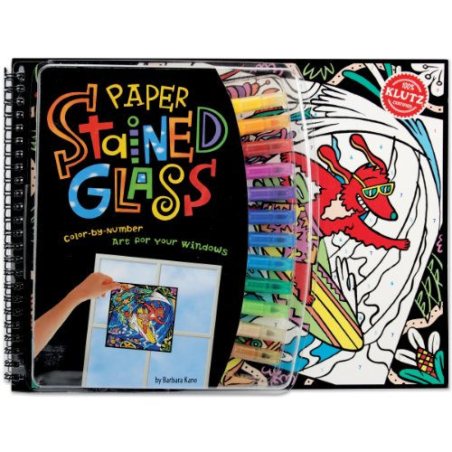 Klutz Paper Stained Glass Book Kit