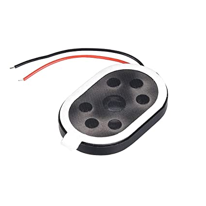 uxcell 1 5W 8 Ohm Mini DIY Speaker Replacement Loudspeaker 20mmx30mm