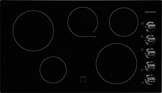 electric cooktop. Contemporary Electric Amazoncom Frigidaire FFEC3624PB 36u0027u0027 Electric Cooktop In Black Appliances To