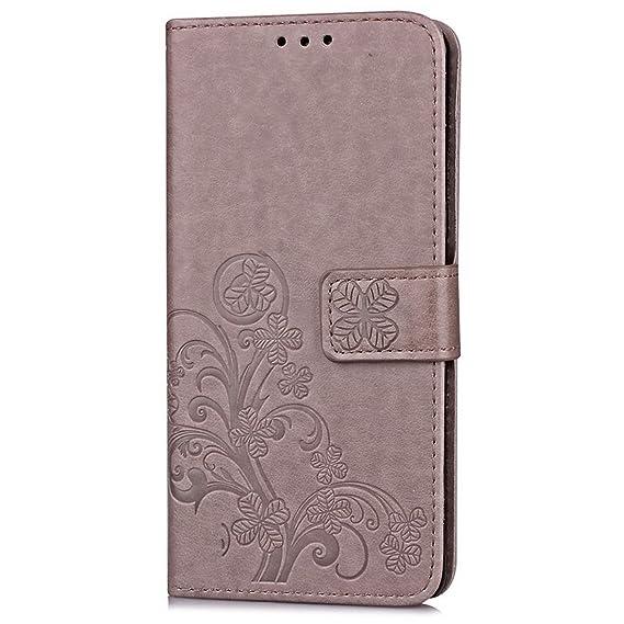 Amazon.com: Samsung Galaxy J1(2015) Case,Floral Flip Full ...