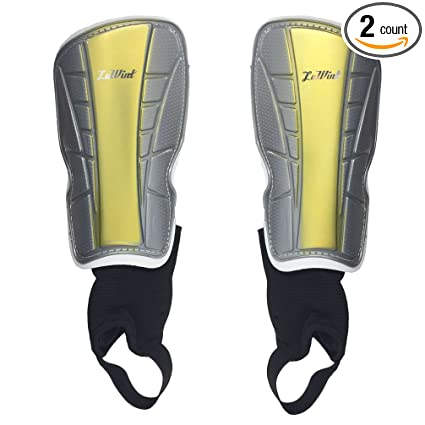 Image Unavailable. Image not available for. Color  Luwint Youth Soccer  Padded Shin Guards with Ankle Sleeves Protective ... d0aca6b077d2