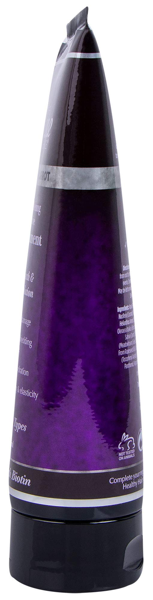 THE MANE CHOICE Green Tea & Carrot Deep Strengthening & Restorative Mask Treatment(8 Ounces / 230 Milliliters) - Hair Mask Infused With Vitamins, Nutrients & Biotin for Stronger Hair by The Mane Choice (Image #3)