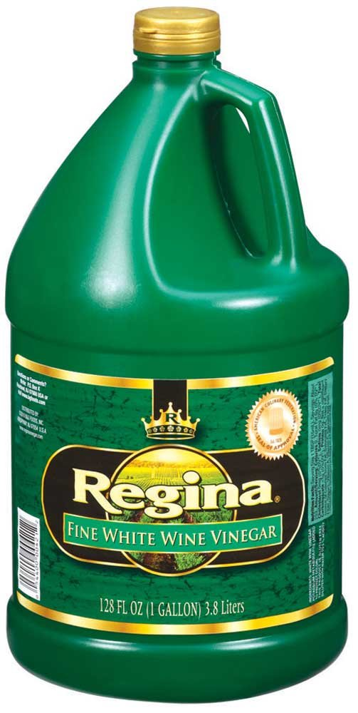 Vinegar Regina White Wine Champagne Stock , 1 Gallon -- 4 per case by BG