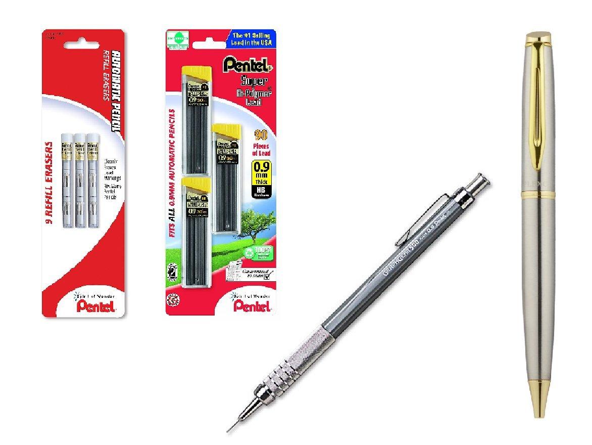 Pentel Graphgear 500 - Lapiz Mecanico 0.9mm Set