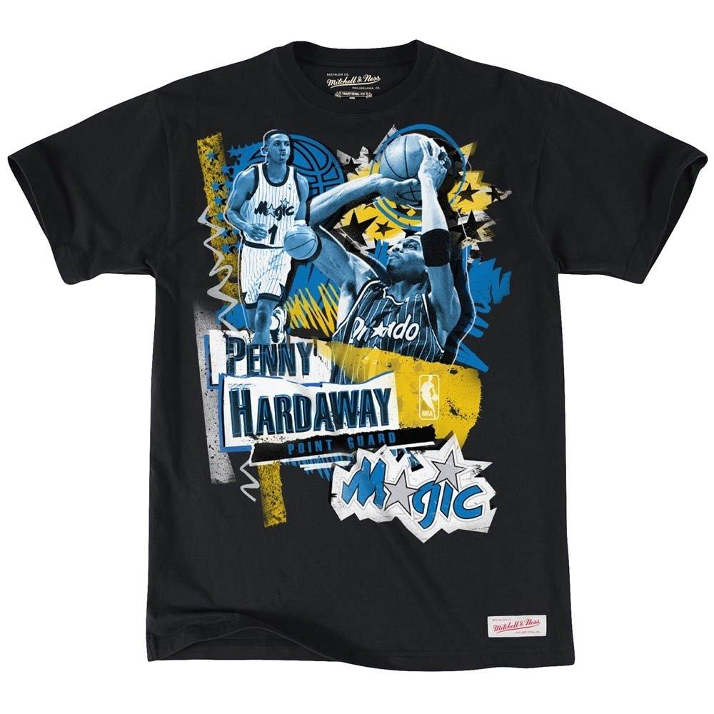 Mitchell & Ness Orlando Magic Penny hard away tailored player NBA T-Shirt negro negro Talla:medium: Amazon.es: Deportes y aire libre