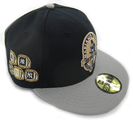 60f984789c5 New York Yankees Mariano Rivera Retirement WS Rings 59FIFTY Fitted Cap by New  Era - Size
