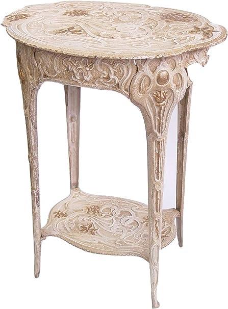 Tavoli In Ghisa Da Giardino.Decorazione Floreale Tavolo Da Giardino Tavolo Tavolino 60 5 Cm