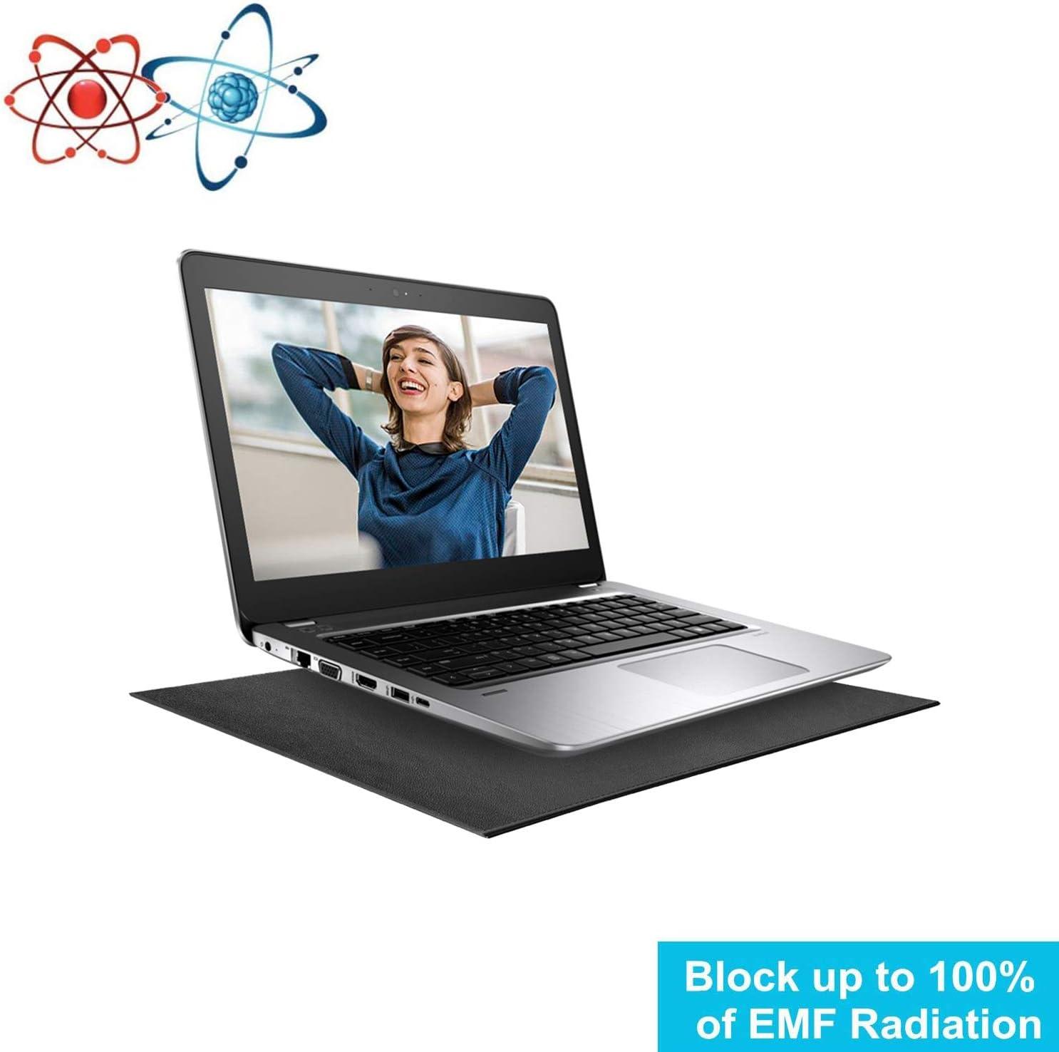 Laptop EMF Radiation Protection pad,Anti Radiation Laptop Computer Pad, EMF Radiation Protect & Heat Shield - Anti Radiation Laptop Computer Pad & EMF Blocker Lap Lapdesk 12''16''