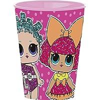 Stor LOL Surprise - Vaso de Plástico, Rosa