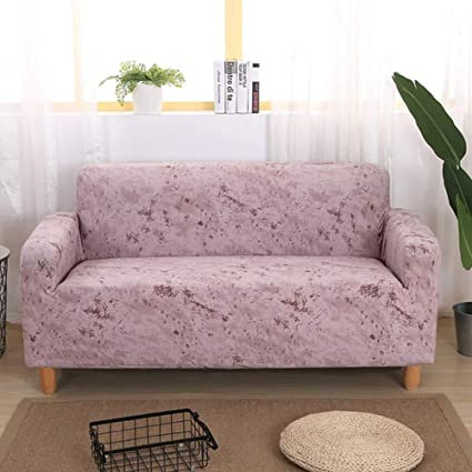 Marvelous Amazon Com Berteri Light Pink Sofa Slipcover For 3 Seat Gmtry Best Dining Table And Chair Ideas Images Gmtryco