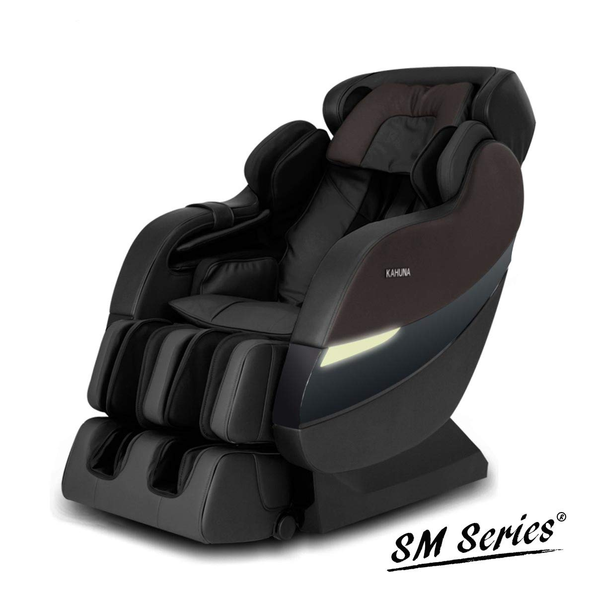 Top Performance Kahuna Superior Massage Chair with SL-Track 6 Rollers - SM-7300S (Dark Brown)