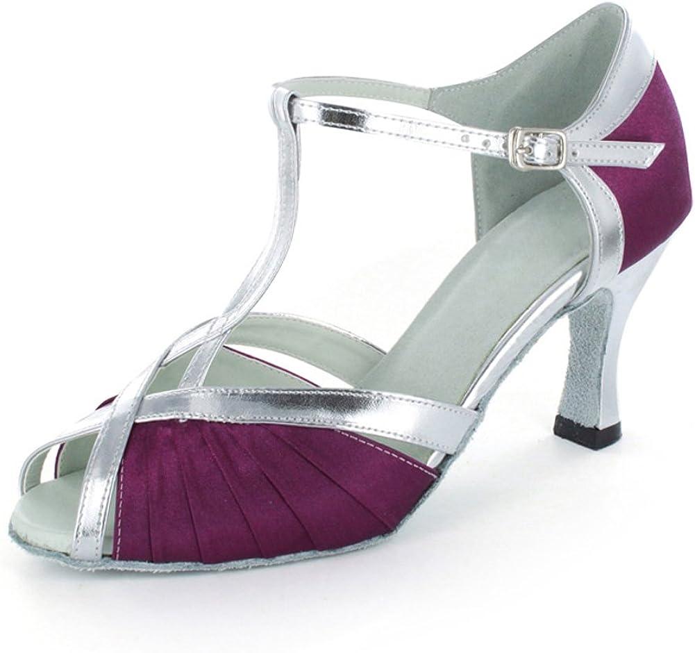 Yiteli Womens Closed Toe Ballroom Dance Shoes US4-12