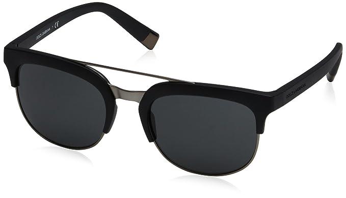 Amazon.com  Dolce   Gabbana Women s 0dg6103 Square Sunglasses, Matte ... ace0138f4a02