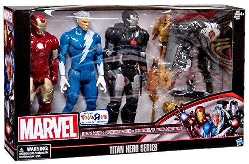 "Marvel Titan Hero Series 12"" Action Figure 3-Pack [Iron Man, Quicksilver & War Machine]"