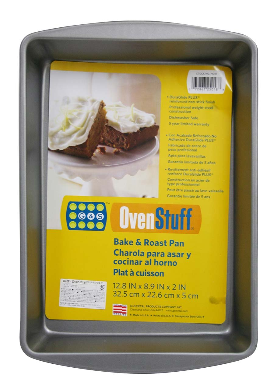 OvenStuff Non-Stick Bake and Roasting Pan, Medium by G & S Metal Products Company (Image #2)