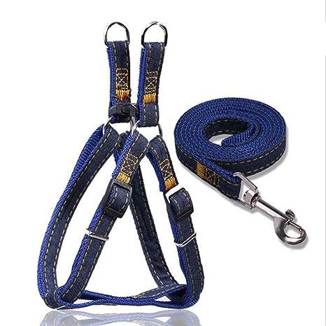 Liying - perro acolchada ajustable arnés de seguridad chaleco y ...