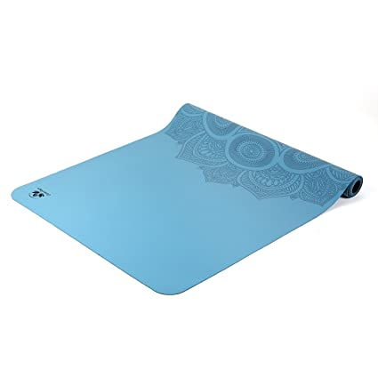 various colors in stock half price Travel Yoga Mat - Lightweight, Foldable and Non Slip Sticky - Made from The  Best Natural Rubber Ultra Thin - Great for Hot Yoga Bikram, Pilates and ...