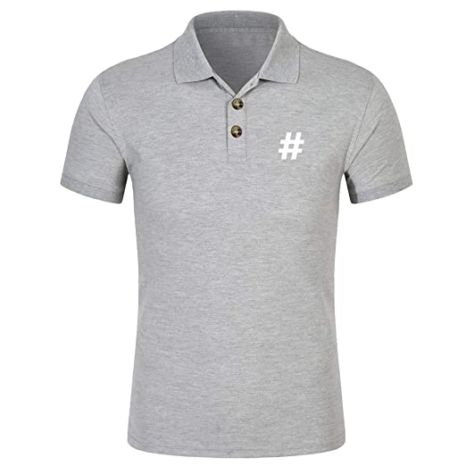 Amazon.com  TOTOD Men s Polo Shirts Men Fashion Summer Slim Fit ... 40180b0f2d11
