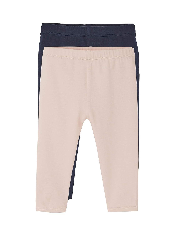 VERTBAUDET Lot de 2 leggings longs b/éb/é fille Lot marine gris/é 18M 81CM