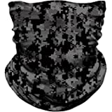 MIRKOO Outdoor Camouflage Face Mask, Breathable Seamless Tube Dust-Proof Windproof UV Protection Motorcycle Bicycle ATV Face