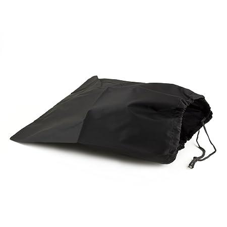 6a602402bcdc Adorox Set of 6 Nylon Portable Travel Drawstring Shoe Bags Pouch (black)