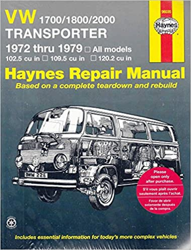Volkswagen transporter 1700 1800 and 2000 1972 79 haynes repair volkswagen transporter 1700 1800 and 2000 1972 79 haynes repair manuals 1st edition fandeluxe Image collections