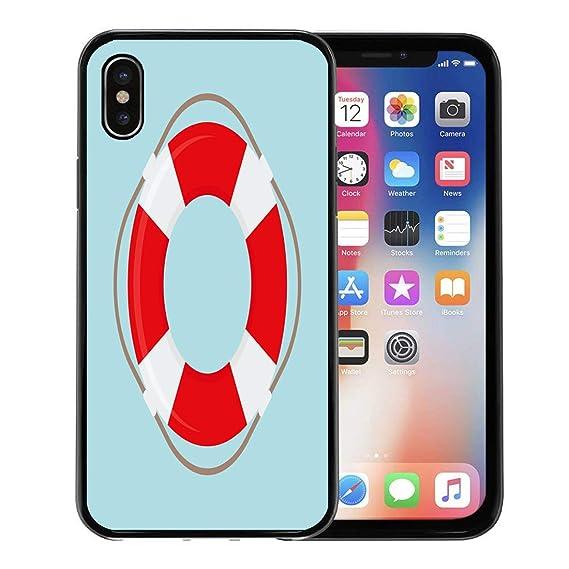 best service 70d9d 93d6b Amazon.com: Semtomn Phone Case for Apple iPhone Xs case,Lifeguard ...