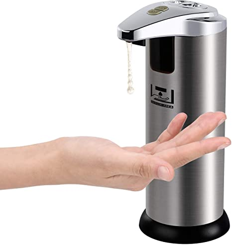 Epidemic prevention Touchless Infrared automatic Safe Soap Dispenser Stain steel