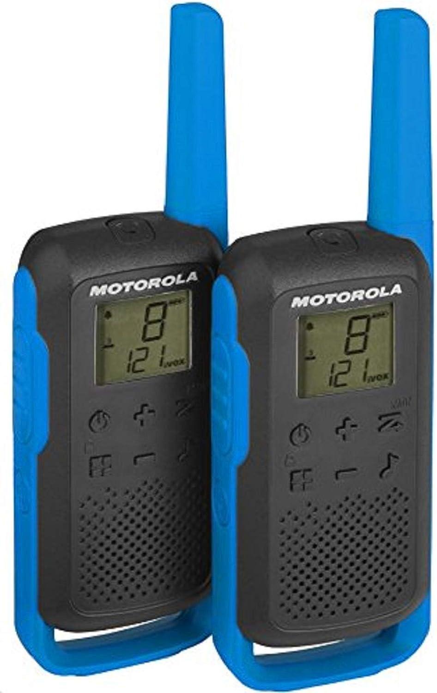 Motorola Talkabout T62 Pmr Funkgeräte Blau Elektronik