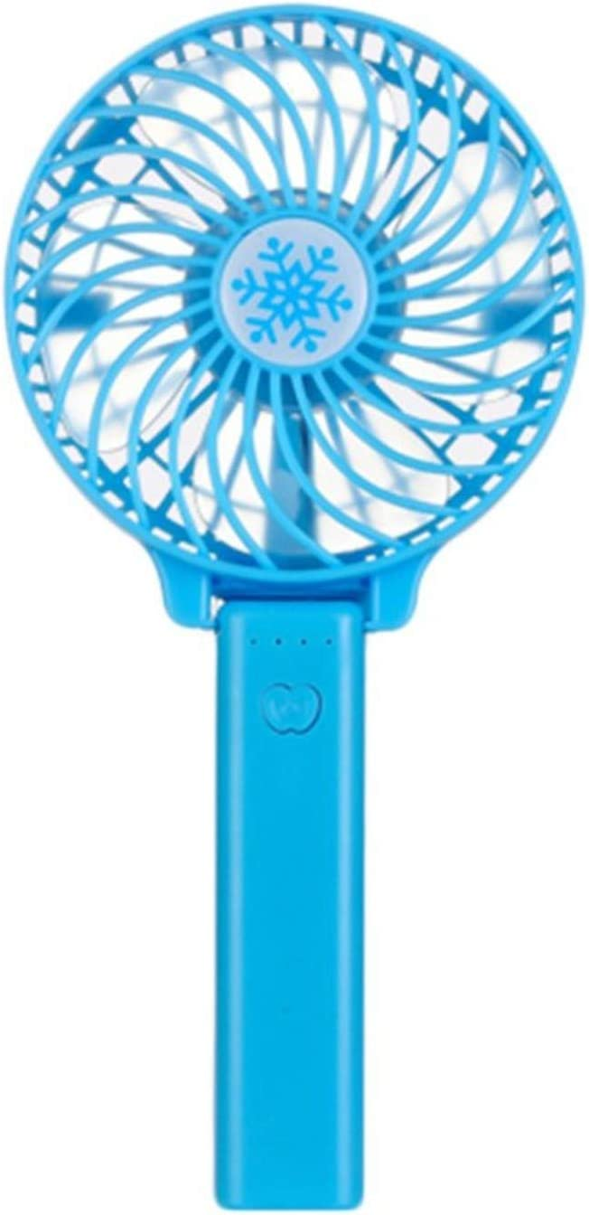 Portable Hand Fan USB Rechargeable Foldable Handheld Mini Fan Cooler 3 Speed Adjustable Cooling Fan Outdoor Travel Air Cooler,Red,Germany