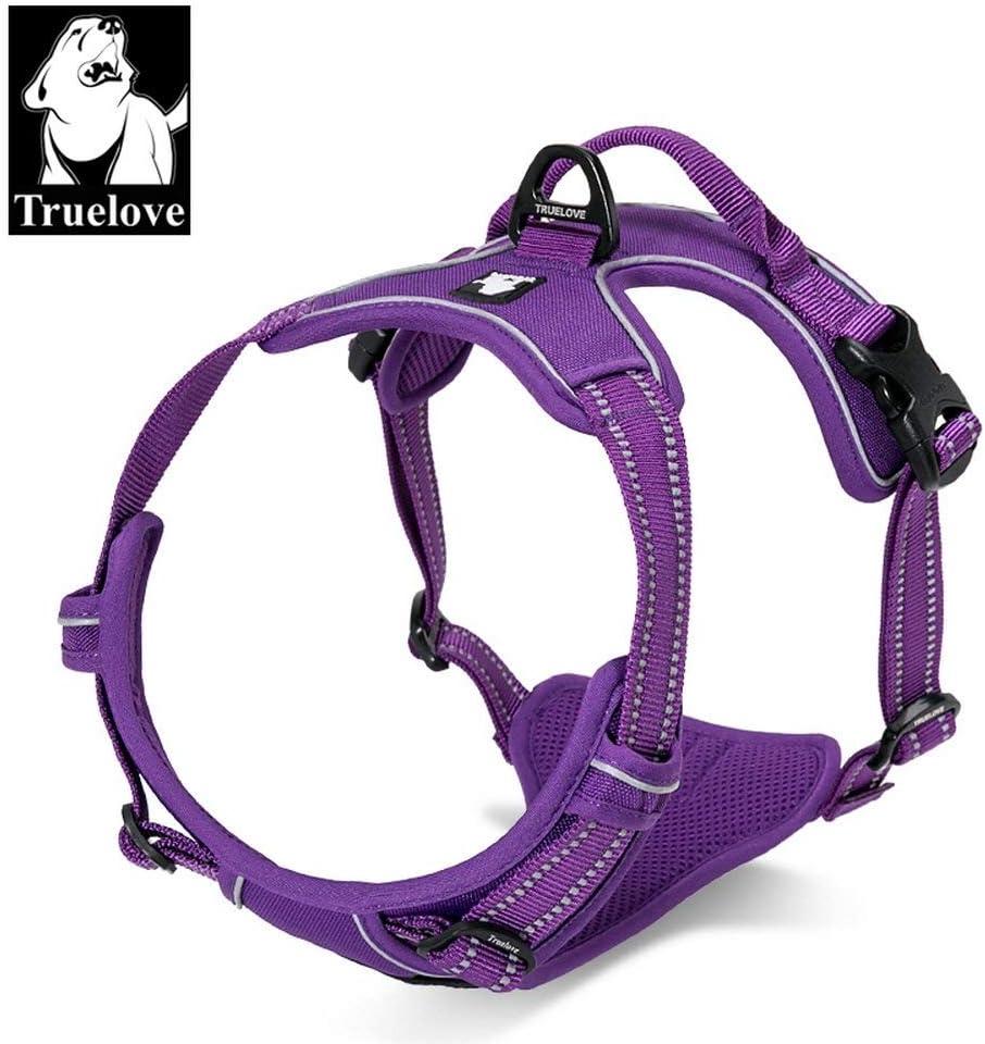 Arn/és para perro TrueLove TLH5651 arn/és chaleco para perros grandes cachorros aventuras al aire libre las costuras reflectantes 3M aseguran la visibilidad de noche