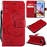 Amocase Wallet Leather Case with 2 in 1 Stylus