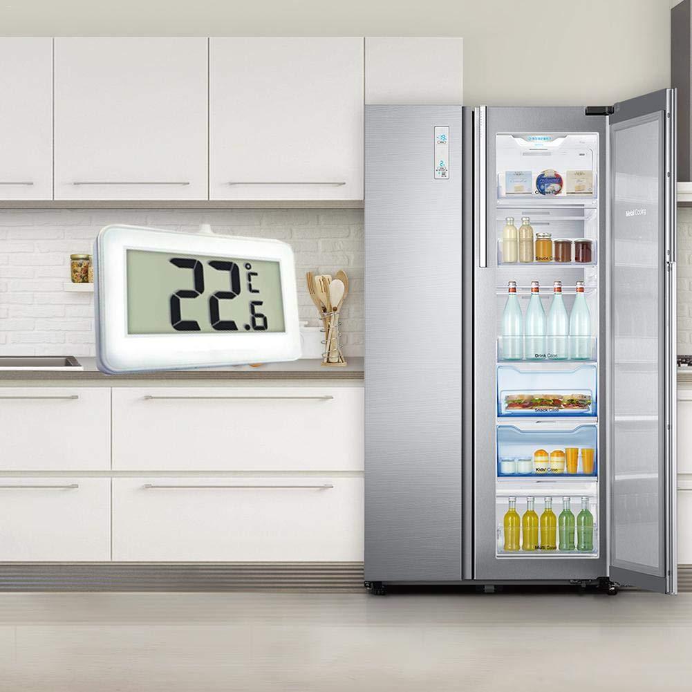 Compra Biggystar termómetro para refrigerador, congelador ...