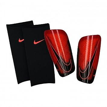 Nike Mercurial Espinilleras Rojo Adulto Con Media Compresora: Amazon.es: Deportes y aire libre