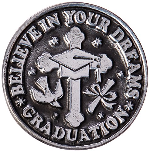 Cathedral Art PT128 Graduation Pocket Token, 1-Inch