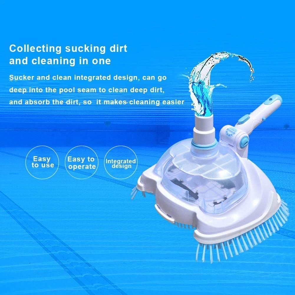presentimer Pool & SPA Vacuum Head Vinyl Liner Vacuum Herramientas de Limpieza y Mantenimiento manuales para Limpiar escombros de los Pisos de Piscinas Grand