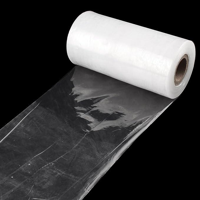 Amazon.com: eDealMax polietileno recubierto de mucosa Industrial envoltura elástica Película de embalaje 15 cm de ancho: Kitchen & Dining