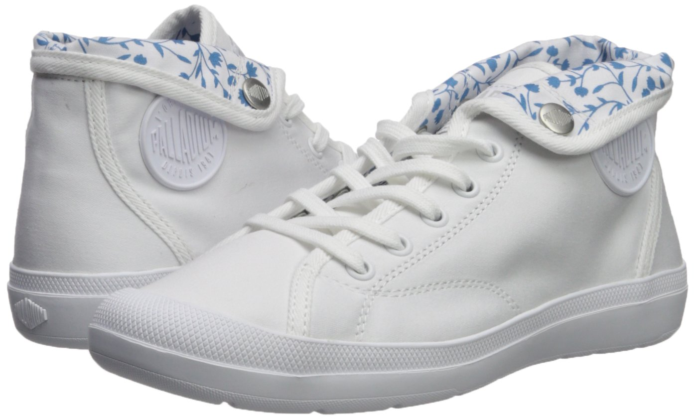 Palladium B074B6VHPN Women's Adventure CVS Sneaker B074B6VHPN Palladium 7.5 M US|White 035278