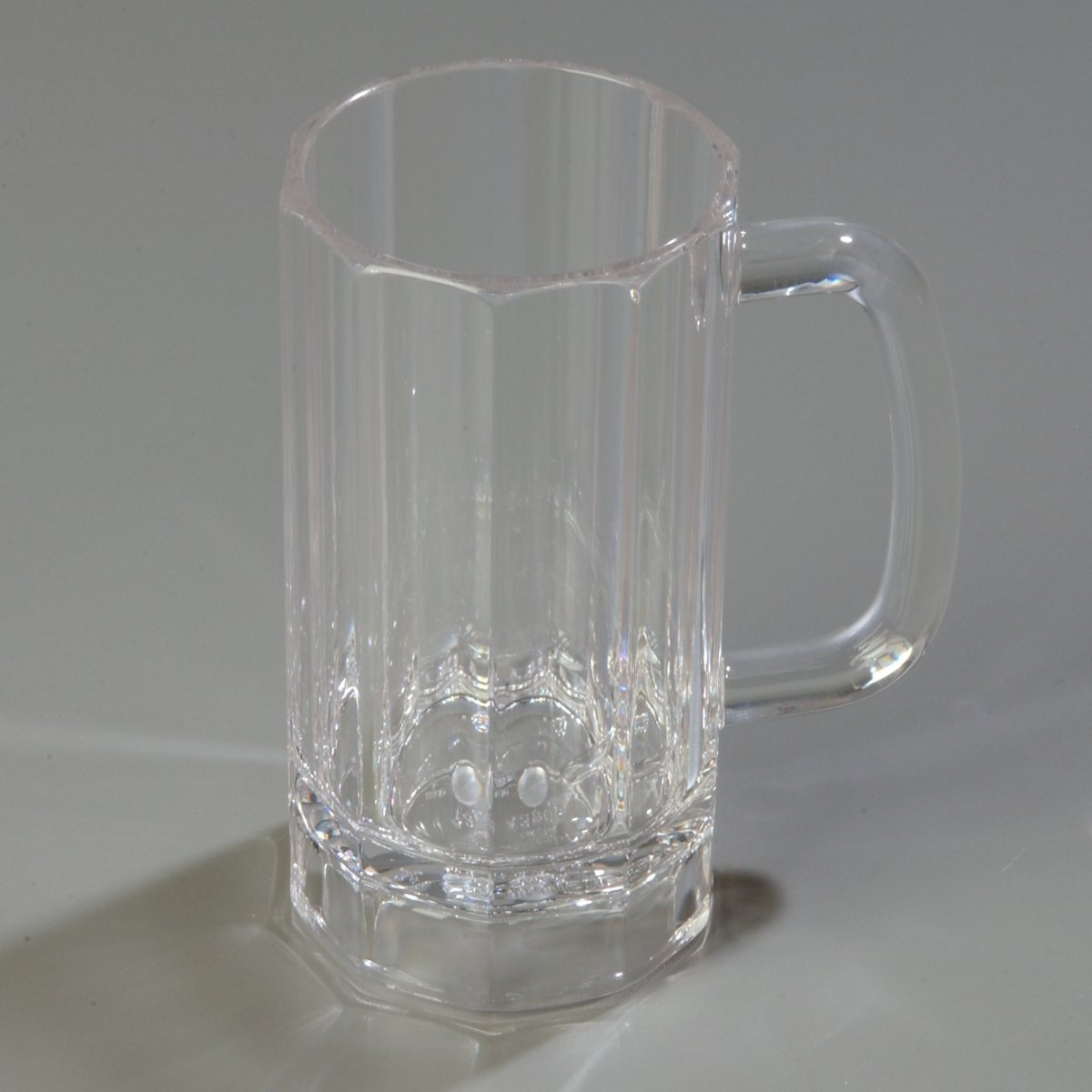 Carlisle 4396507 Lexington PC Mug, 16 oz, 6.23''Height, 5.02''Width, 5.02''Length, Polycarbonate (PC) Clear (Pack of 12)