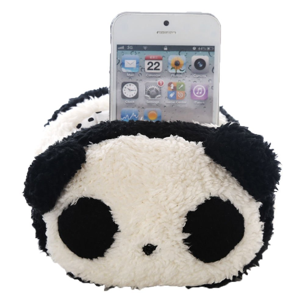 Leegoal Animal Soft Toy Universal Mobile Phone Stand Holder Seat(Panda) 1941008