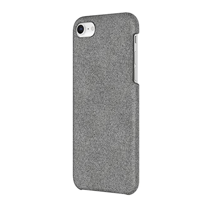 promo code d02ba 98bc1 Incipio Slim Case iPhone 8 Case for iPhone 8 - Gray Fabric