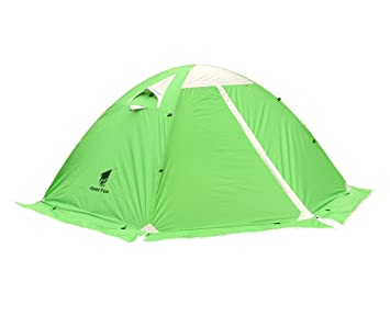 213bf25c11c24f GEERTOP 4 Season 2 Person Waterproof Dome Backpacking Tent For Camping  Hiking Travel Climbing - Easy