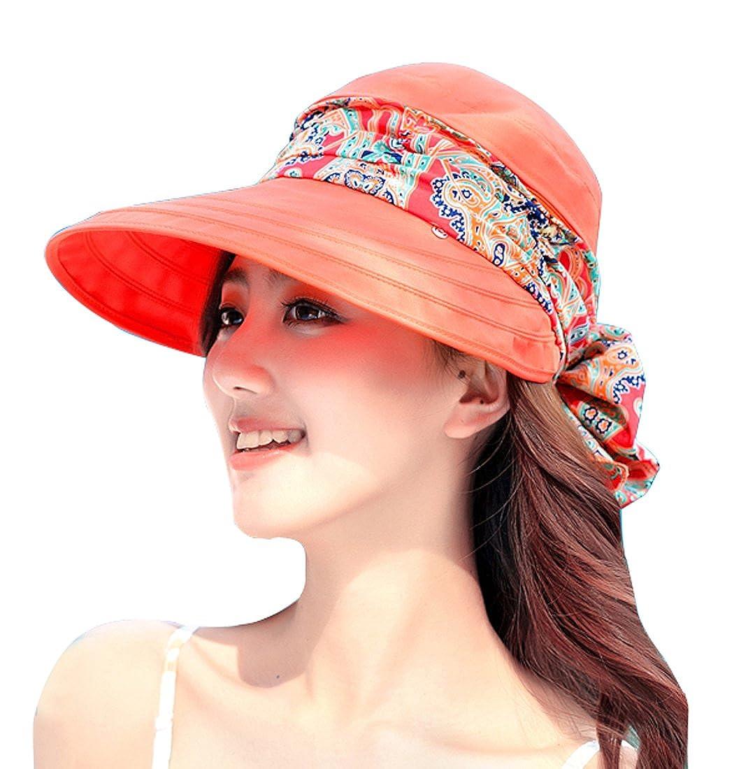 Thenice Cappello da Sole Donna Visiera Protezione UV Sun Hat
