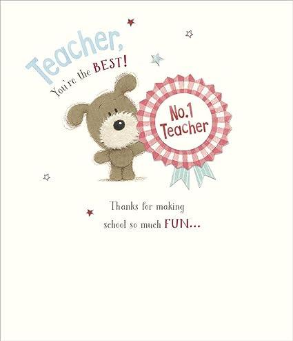 Carcasa tarjeta de agradecimiento para tu profesor.