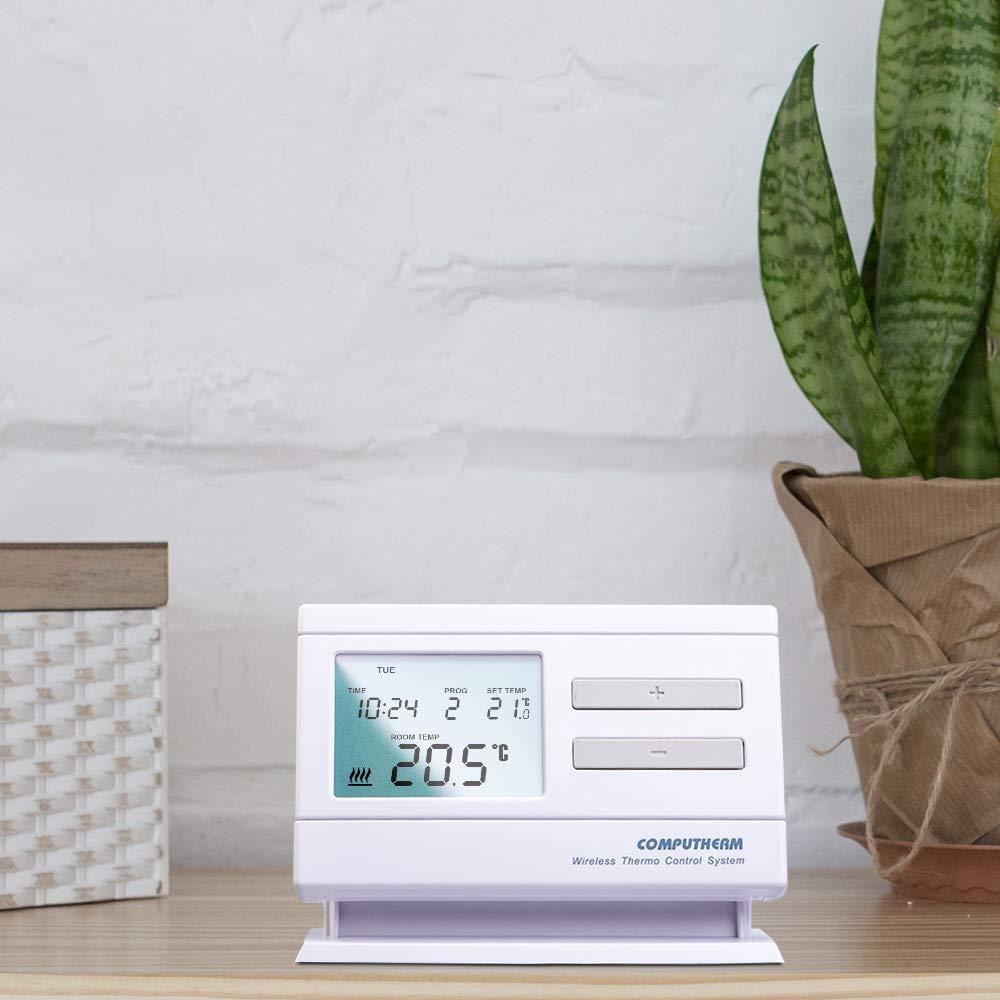 COMPUTHERM Q7RF termostato digital inalámbrico programable de ...