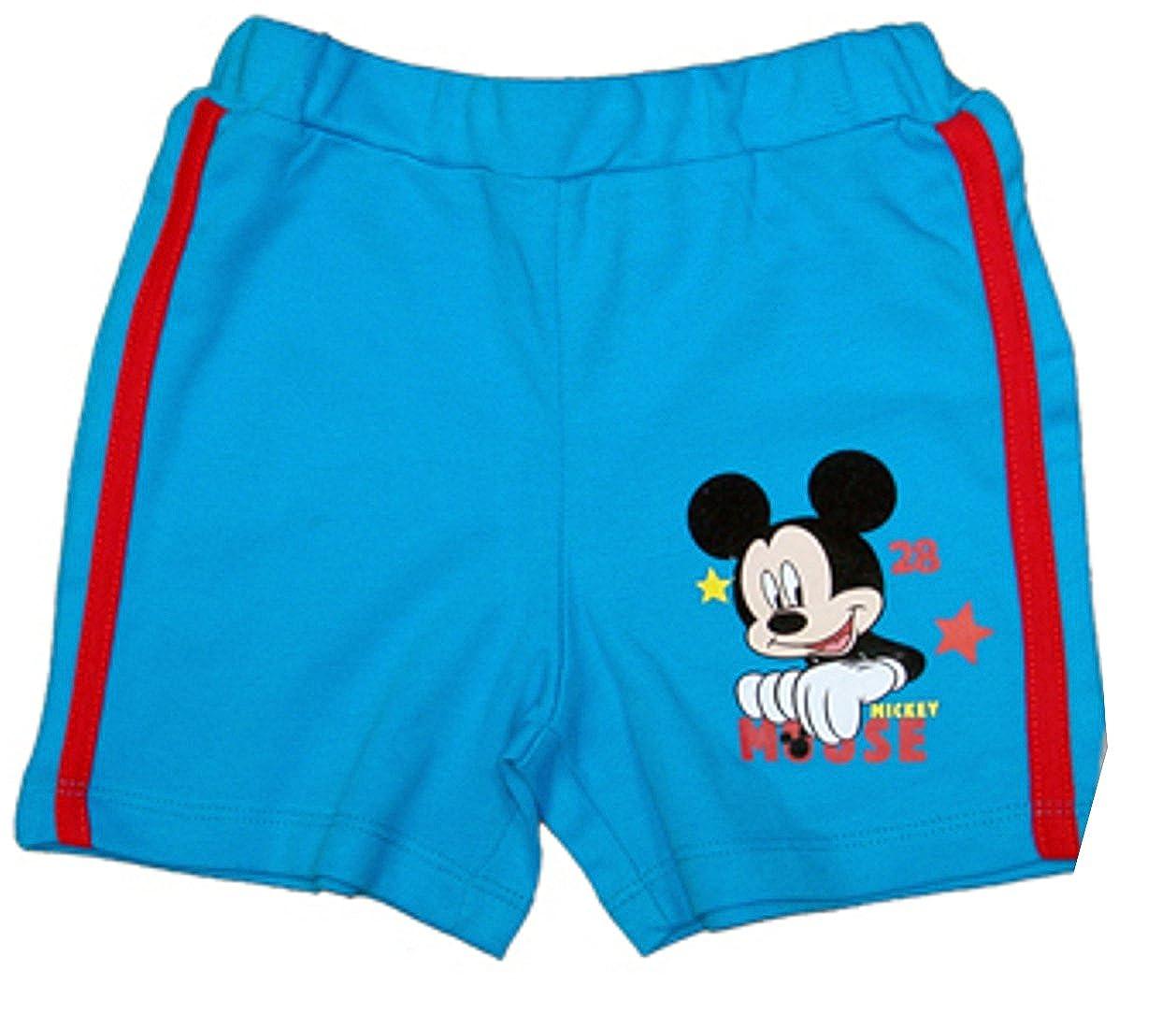 Kurze Hose, blau oder grau, Baby Kleinkind Shorts Mouse, jungen Disney Minnie Mouse Maus KSH6201