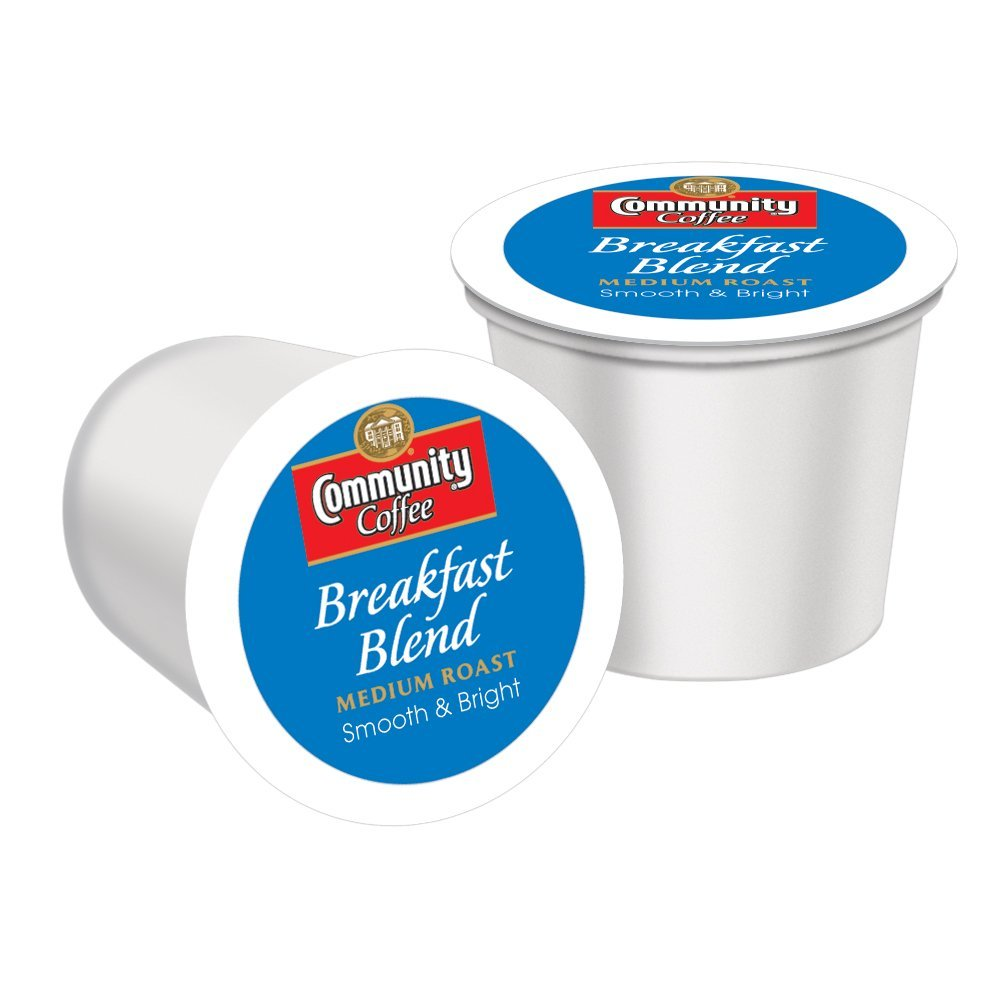 Community Coffee Breakfast Blend, 48 Count Single-Serve Cups