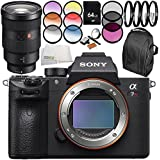 Sony Alpha a7R III Mirrorless Digital Camera with Sony FE 24-70mm f/2.8 GM Lens 10PC Accessory Bundle – Includes 64GB SD Memory Card + MORE